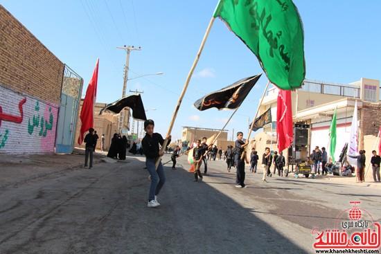 آیین عزای حسینی در شهر بهرمان رفسنجان-خانه خشتی (۸)