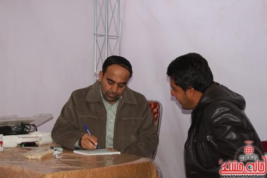 افتتاحیه بیمارستان صحرایی در رفسنجان-خانه خشتی (۱۰)