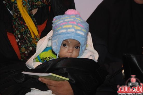 افتتاحیه بیمارستان صحرایی در رفسنجان-خانه خشتی (۱۱)