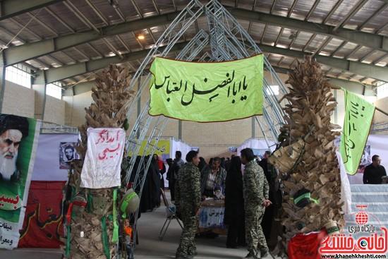 افتتاحیه بیمارستان صحرایی در رفسنجان-خانه خشتی (۱۴)