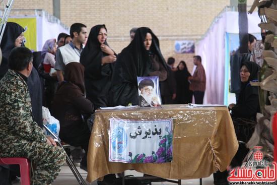 افتتاحیه بیمارستان صحرایی در رفسنجان-خانه خشتی (۱۵)