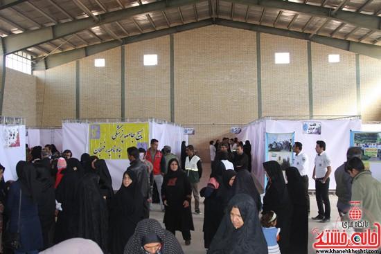 افتتاحیه بیمارستان صحرایی در رفسنجان-خانه خشتی (۱۶)
