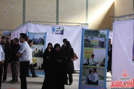 افتتاحیه بیمارستان صحرایی در رفسنجان-خانه خشتی (۱۸)