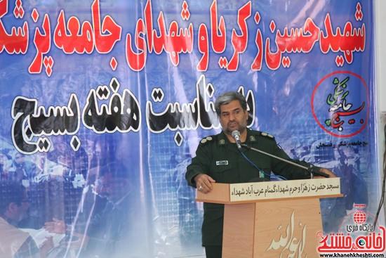 افتتاحیه بیمارستان صحرایی در رفسنجان-خانه خشتی (۲)