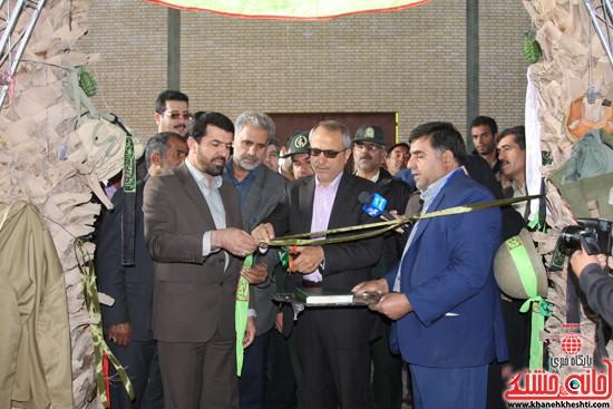 افتتاحیه بیمارستان صحرایی در رفسنجان-خانه خشتی (۵)