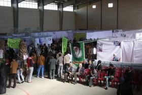 افتتاحیه بیمارستان صحرایی در رفسنجان-خانه خشتی (۷)