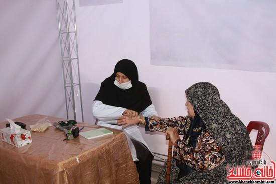 افتتاحیه بیمارستان صحرایی در رفسنجان-خانه خشتی (۸)
