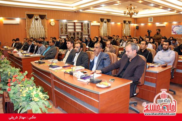 مجمع مشاوران جوان فرمانداری رفسنجان یکساله شد + عکس