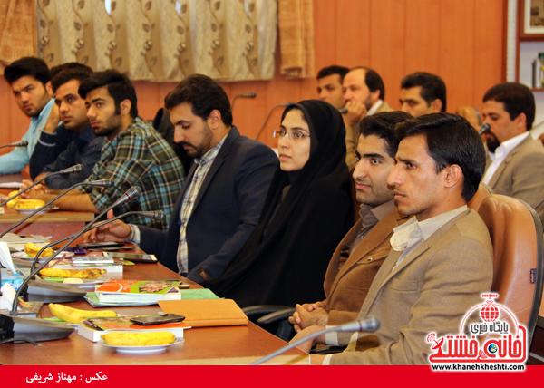 اولین سالگرد مجمع مشاوران جوان فرمانداری-رفسنجان-خانه خشتی (۴)