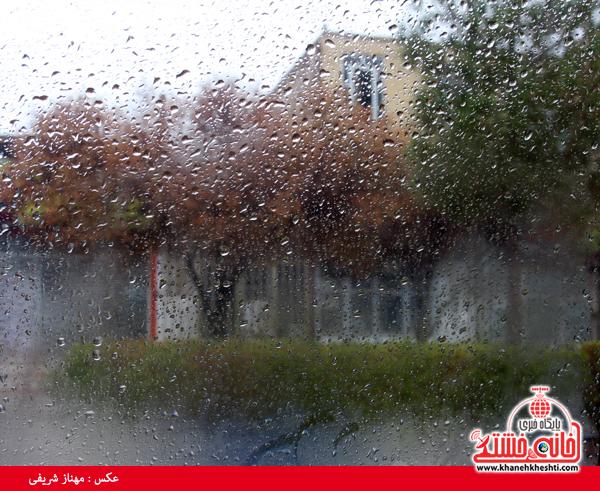 زیبایی ها و زشتی های پس از باران در رفسنجان