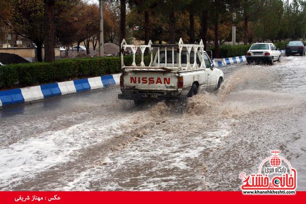 آماده باش ۹۰ درصدی شهرداری رفسنجان برای جلوگیری از آبگرفتگی معابر