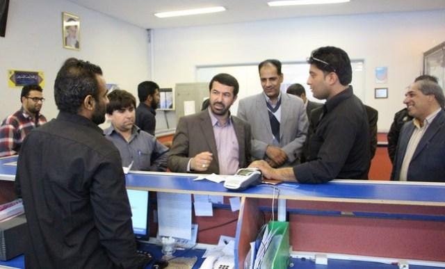 بازدید سرزده فرماندار رفسنجان (۲)
