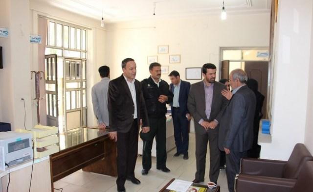 بازدید سرزده فرماندار رفسنجان (۳)