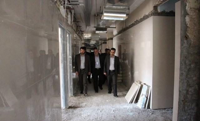 بازدید سرزده فرماندار رفسنجان (۵)
