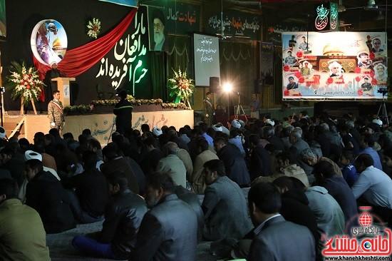 بزرگداشت شهدای مدافع حرم در رفسنجان-ohki oajd (2)