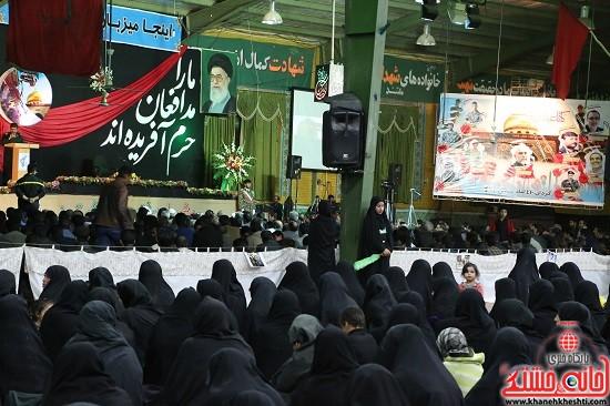 بزرگداشت شهدای مدافع حرم در رفسنجان-ohki oajd (6)