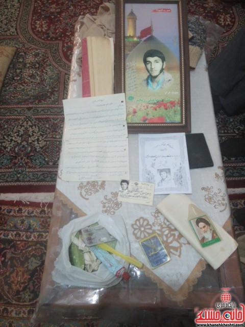 دیدار دانشجویان مفاخر رفسنجان با خانواده شهید-خانه خشتی (۳)