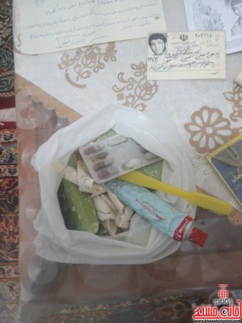 دیدار دانشجویان مفاخر رفسنجان با خانواده شهید-خانه خشتی (۴)