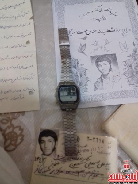 دیدار دانشجویان مفاخر رفسنجان با خانواده شهید-خانه خشتی (۵)