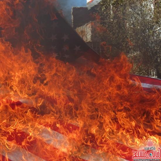 راهپیمایی ۱۳ آبان رفسنجان-خانه خشتی (۱۶)