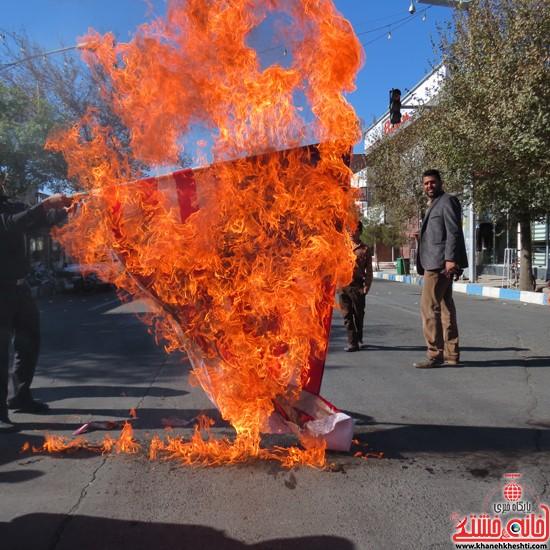 راهپیمایی ۱۳ آبان رفسنجان-خانه خشتی (۱۸)