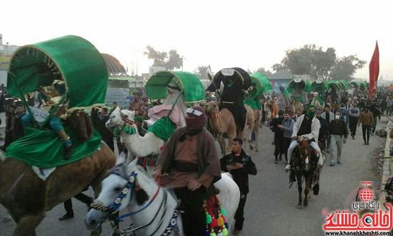 زائرین اربعین حسینی-رفسنجان-خانه خشتی (۱۵)