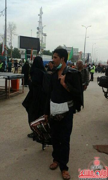 زائرین اربعین حسینی-رفسنجان-خانه خشتی (۳)