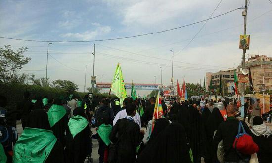 پیاده روی رهپویان کربلا صبح اربعین در رفسنجان برگزار می شود