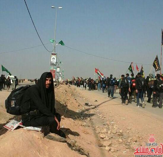 زائرین اربعین حسینی-رفسنجان-خانه خشتی (۶)