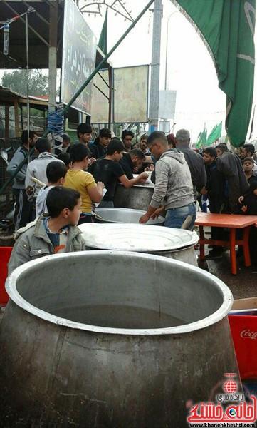 زائرین اربعین حسینی-رفسنجان-خانه خشتی (۸)