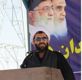 صبحگاه مشترک هفته بسیج-رفسنجان-خانه خشتی (۱۳)