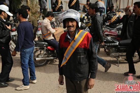 طرح افزایش ایمنی موتور سوارها در لاهیجان رفسنجان-خانه خشتی (۱۰)
