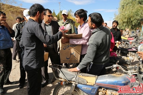 طرح افزایش ایمنی موتور سوارها در لاهیجان رفسنجان-خانه خشتی (۱۲)