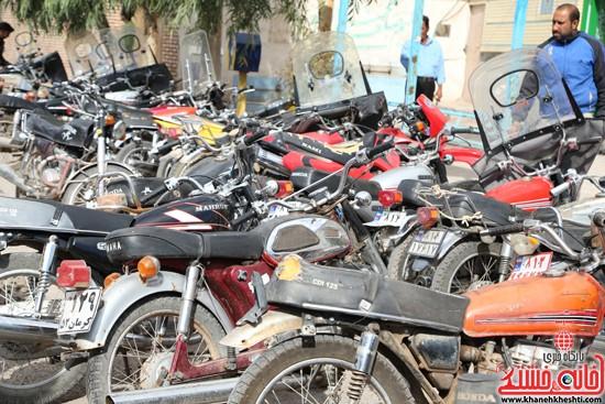 طرح افزایش ایمنی موتور سوارها در لاهیجان رفسنجان-خانه خشتی (۵)