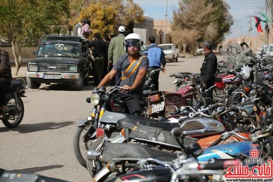 طرح افزایش ایمنی موتور سوارها در لاهیجان رفسنجان-خانه خشتی (۶)