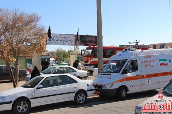 مانور زلزله رفسنجان-خانه خشتی (۱۱)
