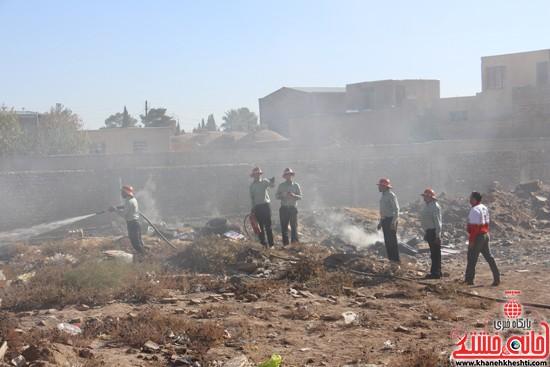 مانور زلزله رفسنجان-خانه خشتی (۱۳)