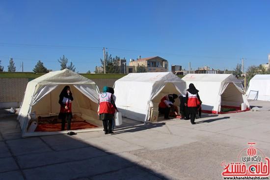 مانور زلزله رفسنجان-خانه خشتی (۱۵)