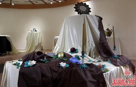 نمایشگاه نقاشی و سفال «از خاک تا نقش»رفسنجان (۱۰)