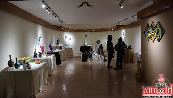 نمایشگاه نقاشی و سفال «از خاک تا نقش»رفسنجان (۱۱)