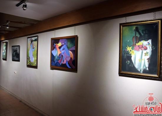 نمایشگاه نقاشی و سفال «از خاک تا نقش»رفسنجان (۱۲)