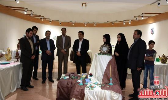 نمایشگاه نقاشی و سفال «از خاک تا نقش»رفسنجان (۴)