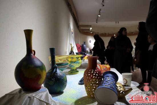 نمایشگاه نقاشی و سفال «از خاک تا نقش»رفسنجان (۶)