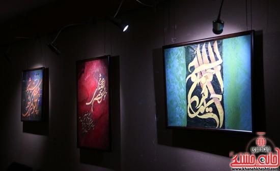 نمایشگاه نقاشی و سفال «از خاک تا نقش»رفسنجان (۷)