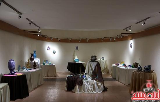 نمایشگاه نقاشی و سفال «از خاک تا نقش»رفسنجان (۸)