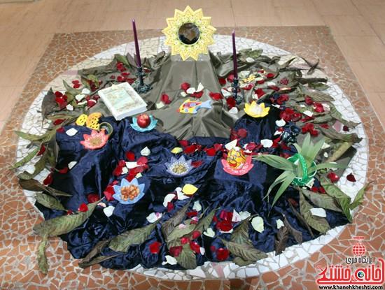 نمایشگاه نقاشی و سفال «از خاک تا نقش»رفسنجان (۹)