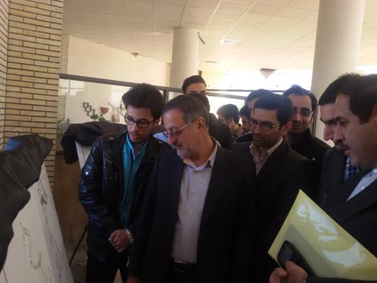 نمایشگاه یادبود مفاسد اقتصادی-دانشگاه ولی عصر رفسنجان-خانه خشتی (۴)