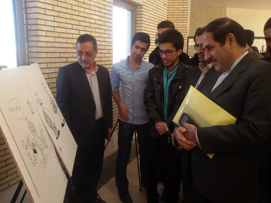 نمایشگاه یادبود مفاسد اقتصادی-دانشگاه ولی عصر رفسنجان-خانه خشتی (۵)
