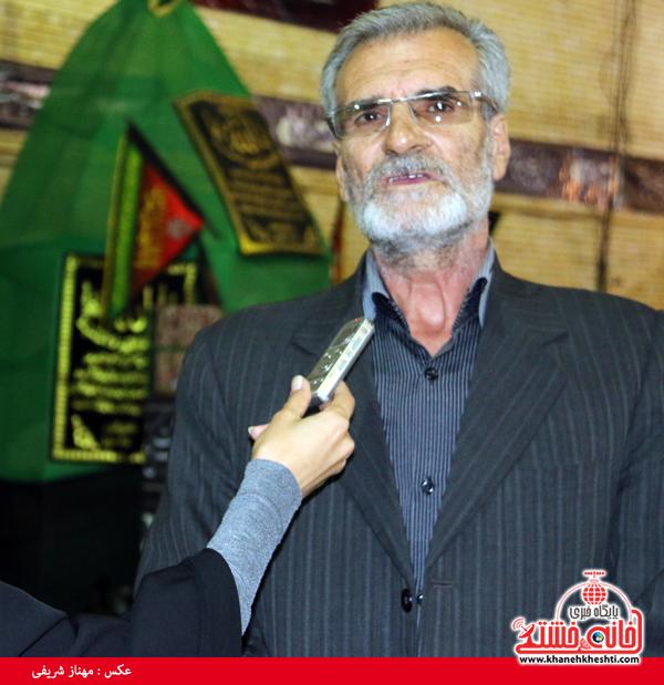 حسینیه ای که خشت خشت آن با کمک های کم و زیاد مردمی بنا شده است
