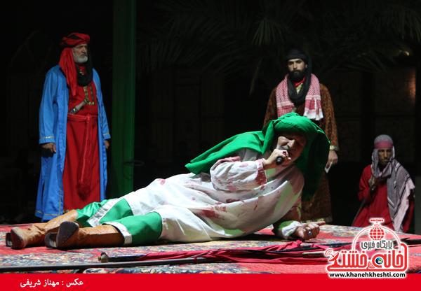 هیئت متوسلین حضرت علی اکبر (ع) رفسنحان-خانه خشتی (۲۱)